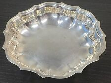 """New listing International Silver Co. Chippendale Silverplate Scalloped Candy Nut Dish 5.75"""""""