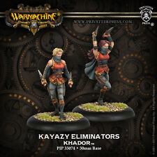 Warmachine: Khador - Ally Kayazy Eliminator Unit PIP 33074