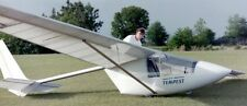 Tempest Moyes Microlights Glider Airplane Wood Model Replica Small Free Shipping