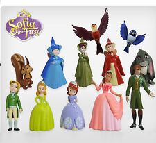 NEW Princess Sofia Set of 12 Figures Toy Cake Toppers