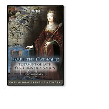 ISABEL THE CATHOLIC: A MONARCH'S ZEAL FOR JUSTICE*  AN EWTN 1-DISC DVD