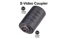 Premium S-Video Female To Female Cable Coupler