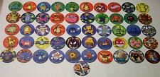 POKEMON TAZOS COMPLETE SET 1-51 with BONUS STICKERS