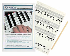 Piano Stickers for 49, 54, 61-KEY Music Keyboard + Online Lessons ~ IDEAL GIFT!