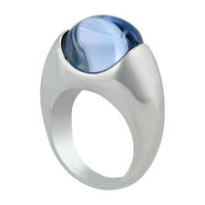 Baccarat Silver Blue Crystal Ring 2104255