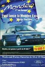 Publicité advertising 1995 Ford Mondeo