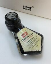Montblanc Vintage 1950's Boot Shaped Glass Ink Bottle For Fountain Pens RARE