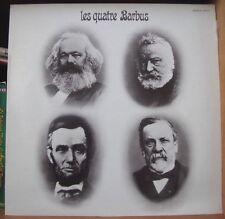 LES QUATRE BARBUS/JACQUES TRITSCH/ANDRE POPP/GORAGUER/HENRI LECA RARE FRENCH LP