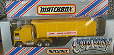 Matchbox Convoy Yellow Taylor Woodrow Truck and Trailer