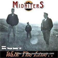 MIDNITERS Walk The Line + JUVIES Playing Hookie CD new neo ROCKABILLY