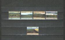 P6800 - AUSTRALIA  1992 - SERIE COMPLETA USATA - 1258/62 - REGIONI VITICOLE