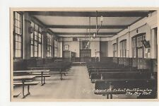 Southampton, King Edward School, The Big Hall Postcard, A951