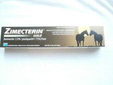 1 Tube ZIMECTERIN GOLD Horse Wormer De-Wormer Tape Worm
