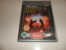 PlayStation 2  Star Wars Episode 3 - Die Rache der Sith [Platinum](2)