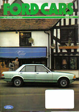 Ford Cars April 1981 Fiesta Escort XR3 Cortina Capri Granada original Brochure