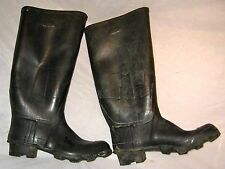Btr military issued wellies wellington caoutchouc gummi gay. rare!