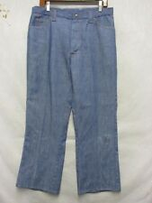 D7110 JCPenney No-iron 80's Straight Jeans Men's 34x27