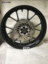 DERBI   MULHACEN CAFE  2008  REAR  WHEEL DISC AND DRIVE   LOT31  31C3198 - M543