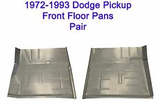 1972 1993 Dodge Regular & Club Cab Truck & Ram Charger Floor Pans New Pair