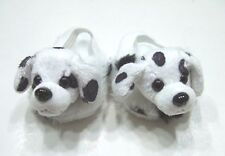 "Dalmation Slippers - For American Girl (BOY) and other 18"" dolls"