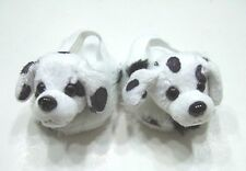 "Dalmation Slippers - sized For American Girl® (BOY) & other 18"" dolls"