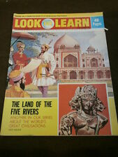 LOOK and LEARN #555 - THE LAND OF FIVE RIVERS - SEPT 2 1972