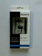 New Sony MH750 Stereo Earphone Headset Handsfree Headphone With MIC&3.5 MM JACK