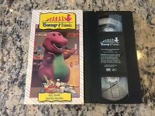 BARNEY & FRIENDS EAT, DRINK AND BE HEALTHY RARE VHS! NOT ON DVD TIME LIFE LYONS!