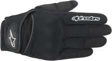 ALPINESTARS Spartan Textile Short Cuff Motorcycle Gloves (Black) M (Medium)