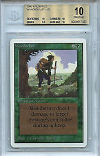 MTG Unlimited Wanderlust BGS 10.0 (10) Pristine Mint Magic Card WOTC 7422