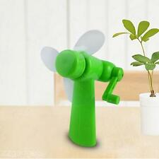 New Portable Fans Summer Student Hand Held Manual Operation Mini Pocket Fan Cool