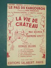 """Partition Chant """"Le pas du kangourou"""" SELLERS VINCI"""