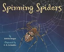 Spinning Spiders (Let's-Read-and-Find-Out Science 2)-ExLibrary