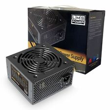 LMS Data 500W ATX PC Desktop Computer Power Supply PSU PFC 12CM Quiet Fan