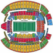 Seattle Seahawks vs Los Angeles Rams Tickets 12/15 Sec 107 Seats 1-2