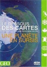 30899// LE DESSOUS DES CARTES UNE PLANETE EN SURSIS DVD NEUF SANS BLISTER