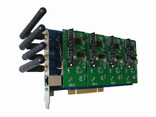Dmlink DGM400P with 4 GSM Modules PCI Card Asterisk Elastix Trixbox