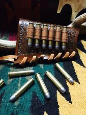 Custom leather stock wrap for Marlin model 1895 with 6 bullet loops!!!!