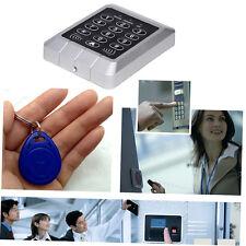 RFID Security Reader Door Lock keypad Access Control System+10 Pcs Keys B8