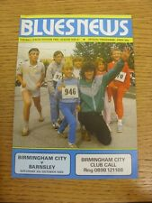 04/10/1986 Birmingham City v Barnsley  (Faint Crease). Trusted sellers on ebay b