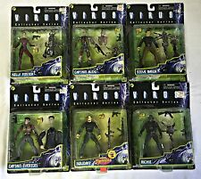 VIRUS Movie action figure lot w/ GOLIATH + NADIA~ Alexi,Foster,Baker,Everton,Squ
