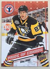 2017 SIDNEY CROSBY UD NATIONAL HOCKEY CARD DAY IN CANADA  #CAN-10 PENGUINS