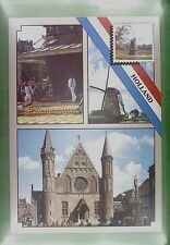 CPA Holland Windmill Moulin Mill Windmühle Wiatrak Molen Costume Folklore w350