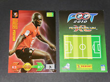 MOUSSA SOW STADE RENNES ROAZHON PANINI FOOTBALL ADRENALYN CARD 2009-2010