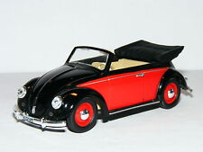 Matchbox Collectibles VEM01-M 1949 Volkswagen Beetle Cabriolet Black/Red 1/43