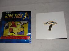 Star Trek Original Series 50th Ann. Phaser Metal Pin-New