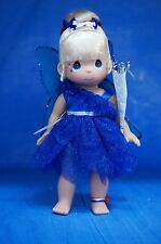 Tinker Bell Boom Blue Disney Parks July 4 2013 Precious Moments Doll Signed 4904