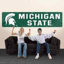 8' BANNER - Michigan State University Spartans - Indoor/Outdoor Use - See Store!