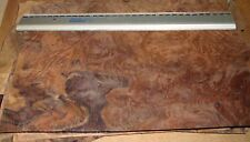 REAL WOOD VENEER WALNUT BURR SELECTION FOR MARQUETRY,BOX MAKING,PENS,RESTORATION