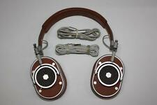 Master & Dynamic MH40 On-Ear Wired Headphones Tan Leather & Silver $399